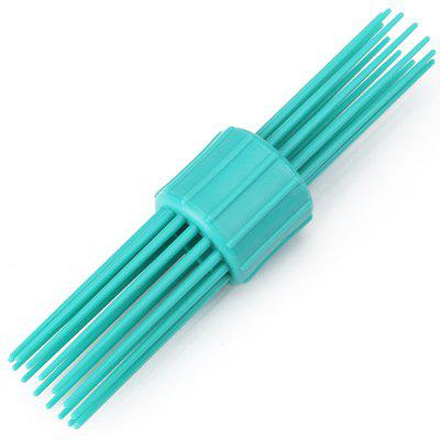 Double Hair Curling Hair Comb Multi-tooth Comb Dye Hair Comb Retro Hair Design Styling Aids Professional Hairdressing Comb