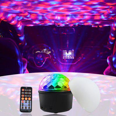 Remote Control Bluetooth Smart Night Light Creative Gift Music Sound Control Induction Nine Color Star Atmosphere Lights