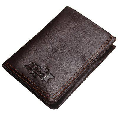 M1230 Suede Leather Retro Men's Wallet Leather Multi-function Wallet
