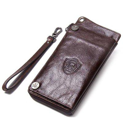 Männer Multifunktionale Casual Wallet Leather