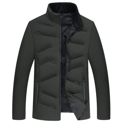 Zimní Down Bavlna Thicken Jacket Coat for Men