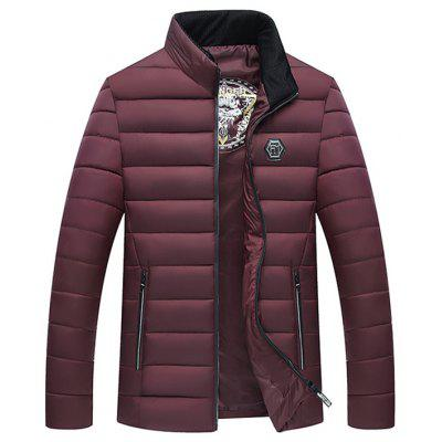 Zimní tloušťka Down Cotton Jacket Coat for Men