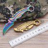 Paw Folding Knife Outdoor Survival Rescue Tool Without Lock - GOLD