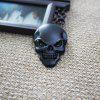 Car Metal Skeleton Labeling Stickers Tail Decoration - GOLD