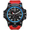 SMAEL 1545 Fashion Sports Multi-function Couple Popular Men Waterproof Electronic Watch With Box - DEEP BLUE