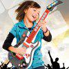 Playable Sing With Microphone Children Magic No String Induction Guitar Puzzle Science Toys - RED