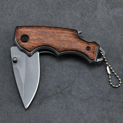 Camping Survival Keychain Knife Folding Knife