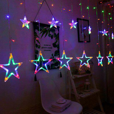 LED Lantern Festival Christmas Star Decoration Lights