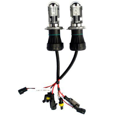 H4 Hid Xenon Lamp Car Bulb H4 Telescopic Light with Line Set