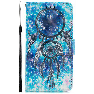 3D Painted Pattern PU Phone Cover for iPhone XS Max