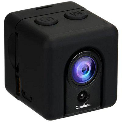 Quelima SQ20 Mini DVR Loop Video Recorder HD Portable Sports DV Mini DV - BLACK
