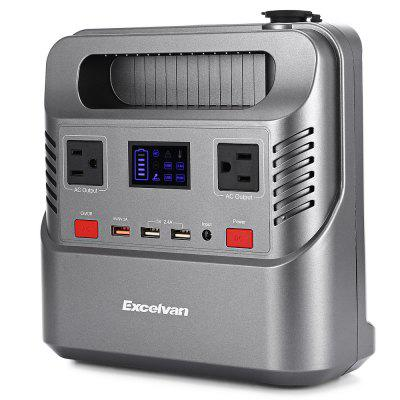 Excelvan HP - 300S Portable Solar Generator Rechargeable Lithium-ion Battery Pack