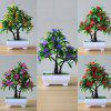 Artificial Plant Flower Pot - RED