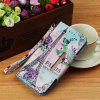 PU Leather Material Large Hijab Painted Pattern Mobile Phone Cover for Samsung Galaxy J4 Plus - MULTI-A