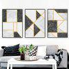 Nordic Abstract Painting Living Room Decorative Painting (with Frame) - PLATINUM