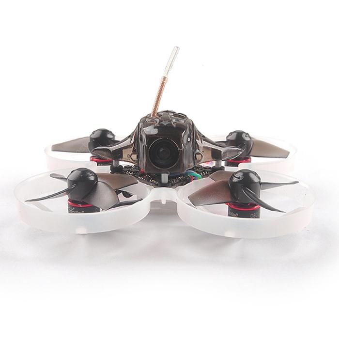 HAPPYMODEL Mobula7 75mm 2S Indoor Brushless Whoop RC Drone BLACK STANDARD Bind and Fly FRSKY NON EU