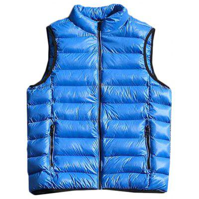 MY18385 - A113 Winter Down Vest Stand Collar Loose Thickening Student Youth Jacket