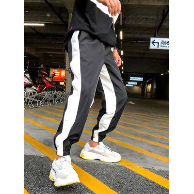 Men Trends Slim Fit Casual  Long Pants