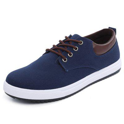 Men Comfortable Canvas Shoes Breathable Leisure Wearable