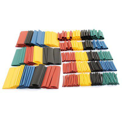 Colorful Heat Shrinkable Tube Electrician Household Wiring Data Line Heat Shrinkable Tube 9pcs
