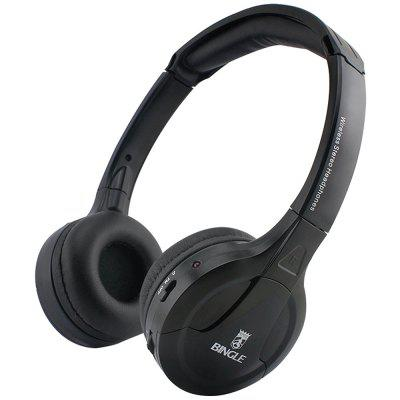 Bingle B616 Casque sans Fil 2,4g Multifonctionnel FM