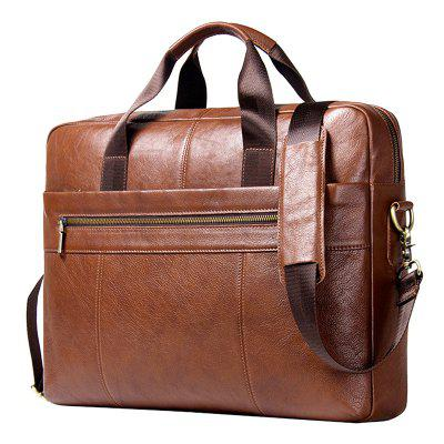 Contact'S MB101 Top Layer Cowhide Men Business Briefcase