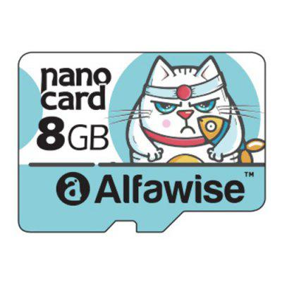 Alfawise 8GB 10 UHS - 1 High Speed High Capacity Micro SD Card