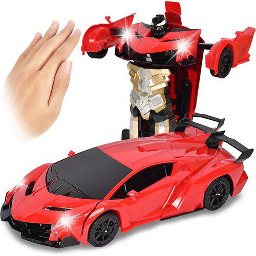 50/% OFF /& FREE SHIPPING Gesture Sensing Transformation Car modeL
