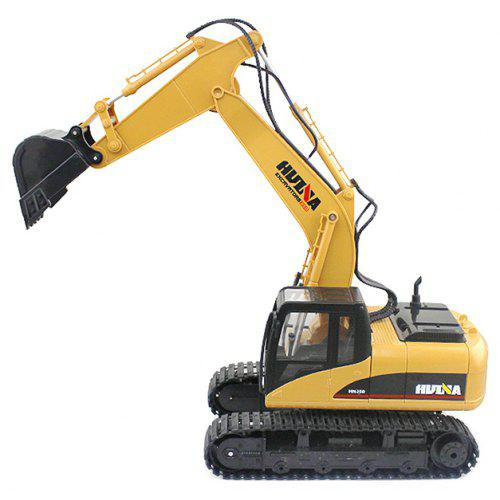 HUINA 1550 1: 14 2.4GHZ 15CH RC د مصر Excavator - RTR