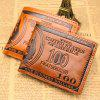Short Wallet Men's Money Clip Beauty Money Bag Men Bag - COFFEE