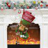 Christmas Decorations Socks Children Gift Candy Bag - CARAMEL