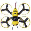 F90S Honeybee Mini RC Drone - RTF for New Players - YELLOW