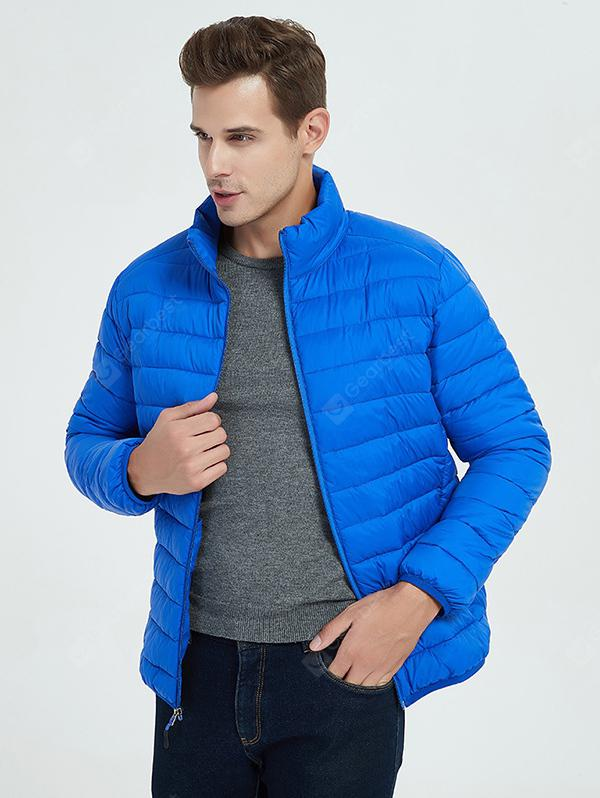 Light Thin Down Cotton Coat Winter Jacket for Men