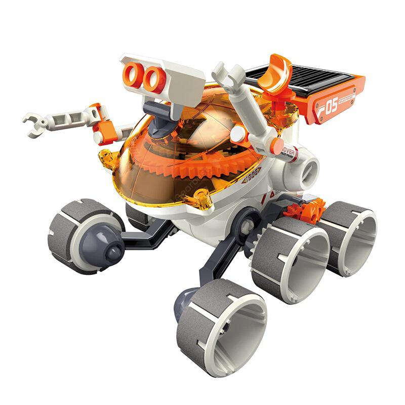 GE - 684 Solar Power Gear Power Adventure Vozilo Izobraževalni Toy - ORANGE