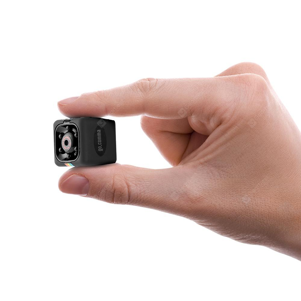 Gocomma SQ11 1080P Mini Camera - Black