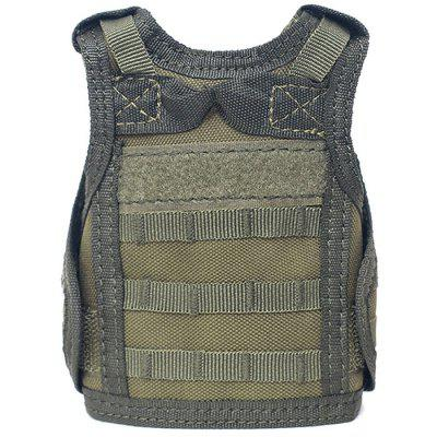 Outdoor Army Fan Mini Vest Personality Molle Bar Decoration Vest Drink Beer Mini Vest