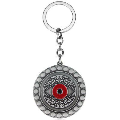Film and Television Eye Design Alloy Keychain