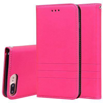 Hat Prince Fashion PU Leather + TPU Phone Case with Card Slot  Bracket Function for iPhone 7 Plus / iPhone 8 Plus