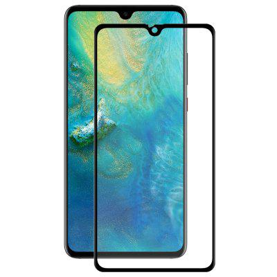 Hat-Prince 3D Curved Carbon Fiber Full Screen Cover Tempered Glass Protective Film for HUAWEI Mate 20