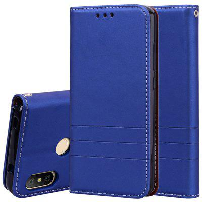 Hat-Prince Fashion Fit PU Leather TPU Card Slot Bracket Function Phone Case for Redmi 6 Pro / Xiaomi A2 Lite