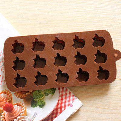 15 Even Apple Pattern Chocolate Mold Funny