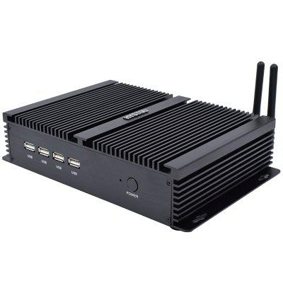 HYSTOU P04-I5 -3317U Fanless Mini Industrial PC Small ITX PC Core I5 3317u Image