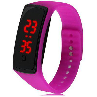 Orologio da polso in silicone V5 Fashion LED Digital Watch per bambini