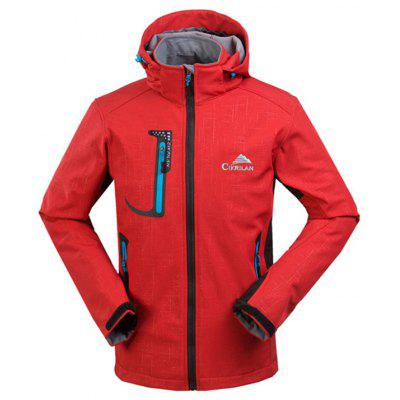 Outdoor Windproof Hooded Waterproof Jacket for Men