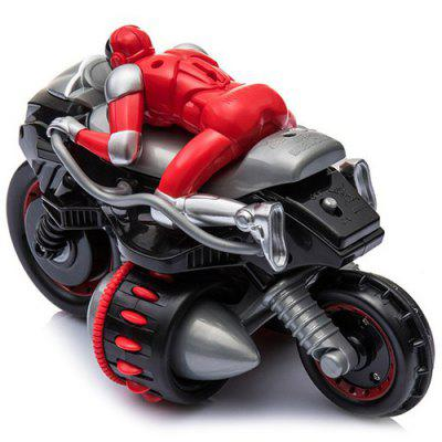 HD - FJ8009 2.4GHz Remote Control Drift Super Cool Tumbling 360 Degrees Rotation Off-road Motorcycle Toy