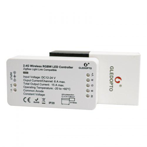 GLEDOPTO C - 007 2.4G Wireless RGBW LED Controller for Strip Light