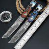 Tactics High Hardness Multi-function Outdoor Knife - GOLD