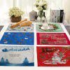 Christmas Decoration Fabric Mat for Table - MULTI-E
