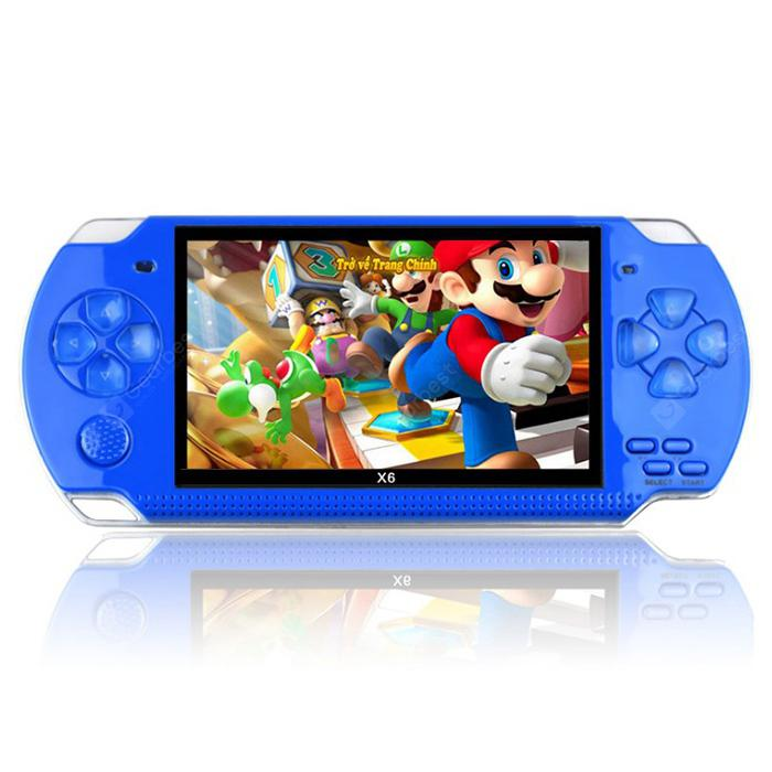 PSP High Definition Handheld Game Machine 4.3 inch - Blue