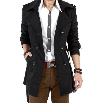 Men's Casual British Coat Trench